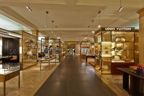 las galerías Harrods son ideales para las compras más exclusivas