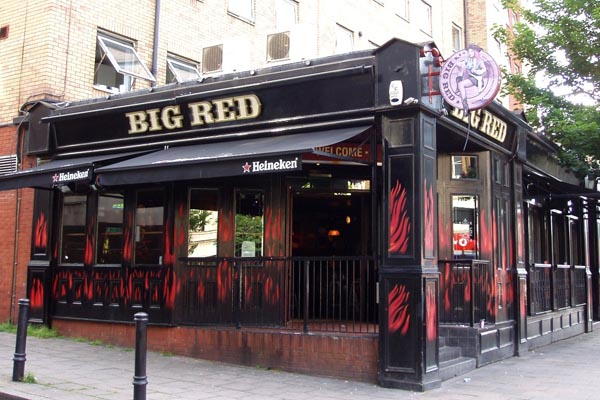 Restaurante Big Red en Londres