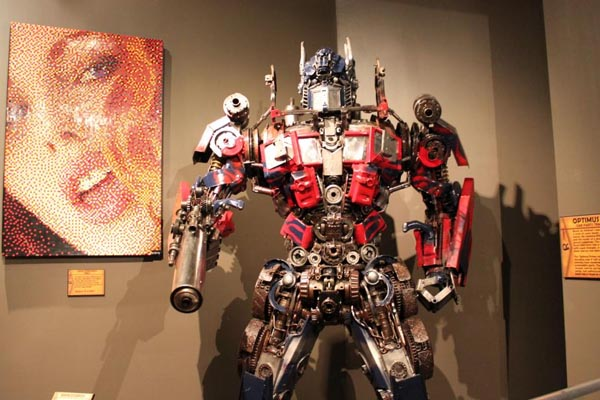 Transformer en el museo Ripley´s Believe It or Not